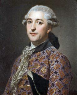 Portrait of Prince Vladimir Golitsyn | Alexander Roslin | Oil Painting