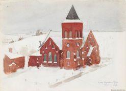 German Church in Helsinki | Louis Sparre | Oil Painting