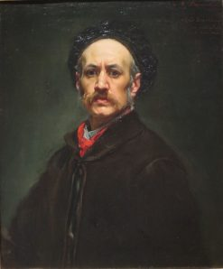 Self Portrait | Alfred Dehodencq | Oil Painting
