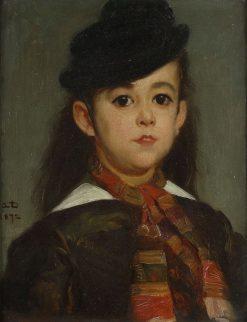 Portrait of Marie Dehodencq