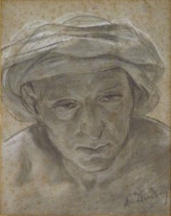 Head of an Arab | Alfred Dehodencq | Oil Painting