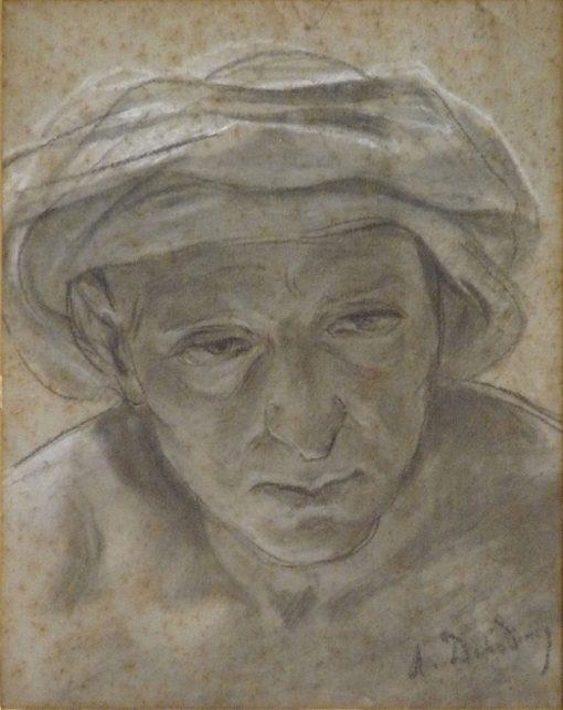 Head of an Arab | Alfred Dehodencq | Oil Painting