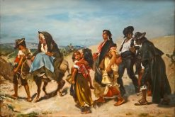Gypsies | Alfred Dehodencq | Oil Painting