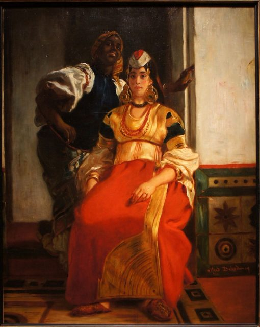 Jewish Wedding in Morocco | Alfred Dehodencq | Oil Painting