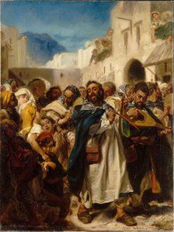 Jewish Festival in Tetuan | Alfred Dehodencq | Oil Painting