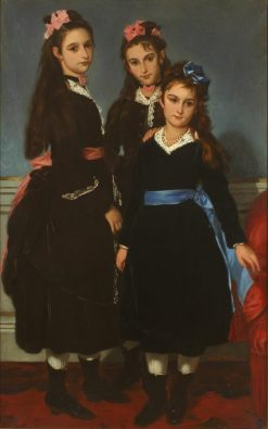 The Daughters of Duke de Montpensier | Alfred Dehodencq | Oil Painting