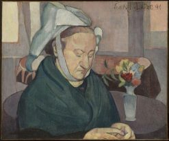 Portrait of Madame Lemasson | Emile Bernard | Oil Painting