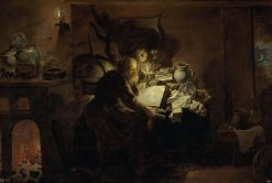 The Alchemist | David Ryckaert III | Oil Painting