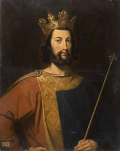 King Louis VI of France | Henri Decaisne | Oil Painting