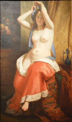 Odalisque | Henri Decaisne | Oil Painting