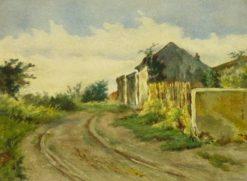 French Landscape | Louis Debras | Oil Painting
