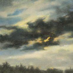 Stormy Sky | Louis Debras | Oil Painting