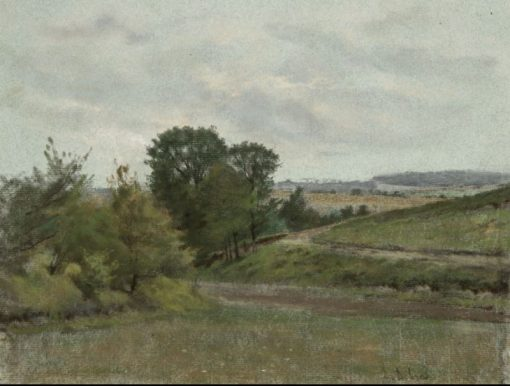 Landscape | Louis Debras | Oil Painting