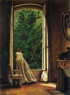 The Window   Vito DAncona   Oil Painting