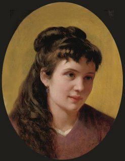 Portrait of a Woman   Vito DAncona   Oil Painting