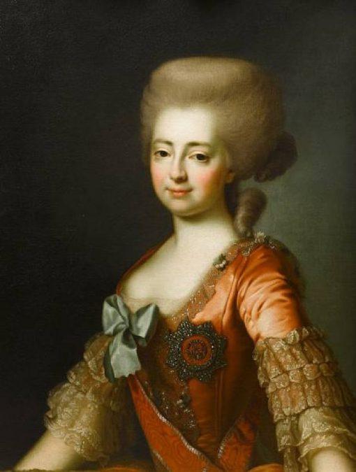Grand Duchess Maria Fedorovna | Alexander Roslin | Oil Painting