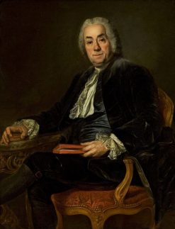 Portrait of Count de Caylus | Alexander Roslin | Oil Painting