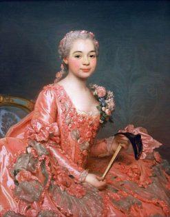 Portrait of the Baroness de Neubourg-Cromière | Alexander Roslin | Oil Painting