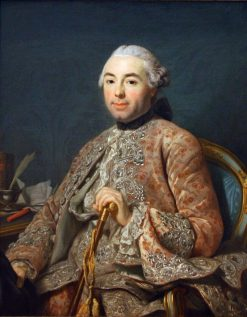 Baron of Neubourg-Cromiere | Alexander Roslin | Oil Painting