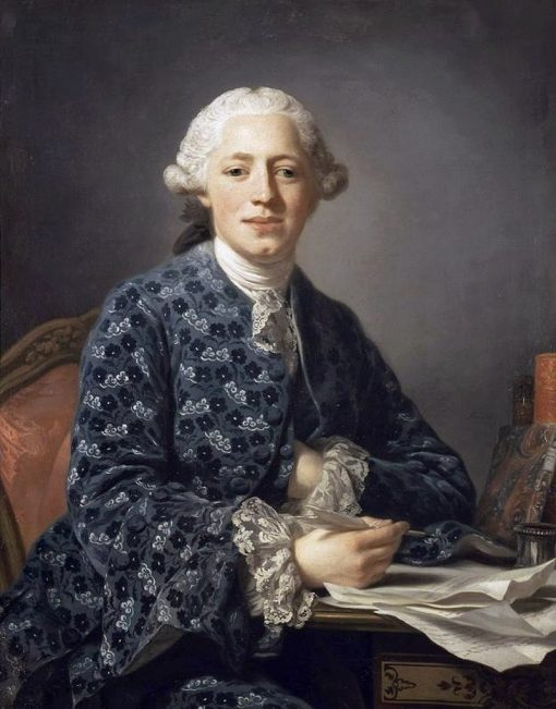 Portrait of Baron Thure Leonard Klinckowström   Alexander Roslin   Oil Painting