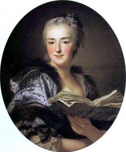 Portrait of Marie-Jeanne Buzeau | Alexander Roslin | Oil Painting