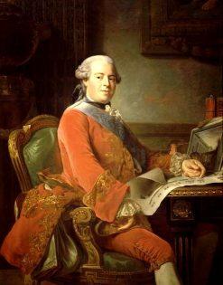 Portrait of Abel-Francois Poisson de Vandières