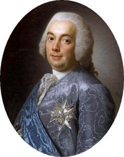 Portrait of Henri-Leonard-Jean-Baptiste Bertin | Alexander Roslin | Oil Painting