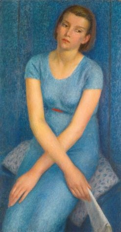 Blue | Dod Procter | Oil Painting