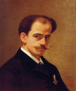 Portrait of a Man | Angelo DAgata | Oil Painting
