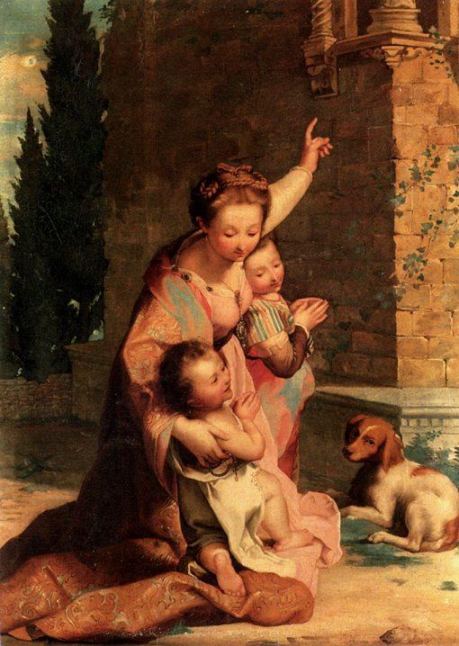 The Prayer | Nicolo Cecconi | Oil Painting