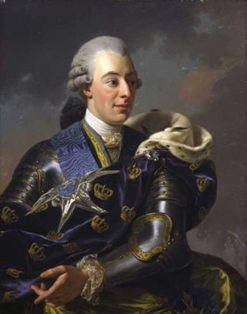 Portrait of Gustav III of Sweden | Alexander Roslin | Oil Painting