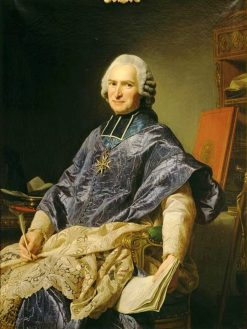 Portrait de Joseph Marie Terray | Alexander Roslin | Oil Painting