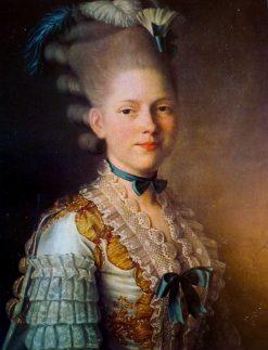 Portrait of S.M. Obolensky | Alexander Roslin | Oil Painting