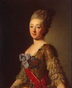 Portrait of Natalia Alexeievna of Russia | Alexander Roslin | Oil Painting