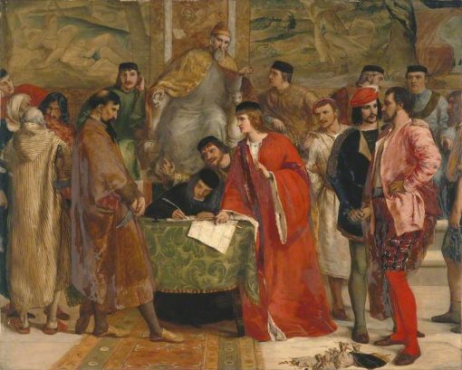 The Defeat of Shylock | James Clarke Hook