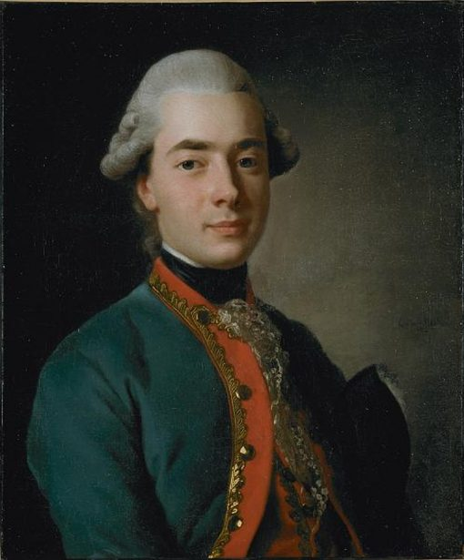 Count Andrey Razumovsky   Alexander Roslin   Oil Painting