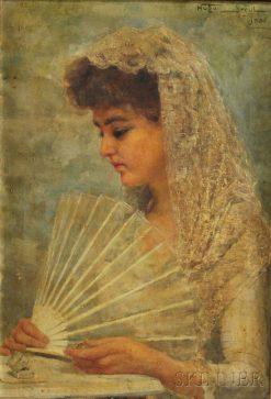 The Bride | Hugo Breul | Oil Painting