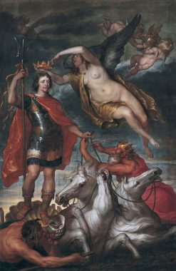 Frederik Hendrik as Lord of the Seas | Thomas Willeboirts Bosschaert | Oil Painting