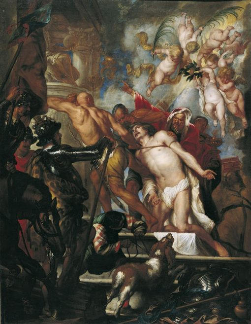 The Martyrdom of Saint James | Thomas Willeboirts Bosschaert | Oil Painting
