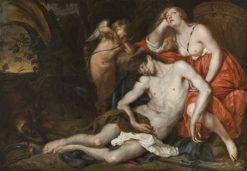 Venus Bewailing the Death of Adonis | Thomas Willeboirts Bosschaert | Oil Painting