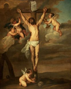 Crucifixion | Thomas Willeboirts Bosschaert | Oil Painting