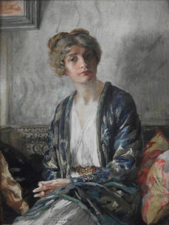 Henrietta Fortuny | Mariano Fortuny y Marsal | Oil Painting