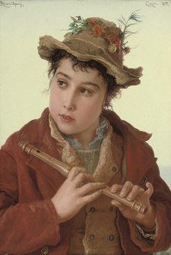 A Capri Boy | Adriano Bonifazi | Oil Painting