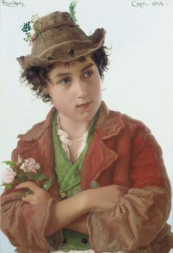 A Young Boy | Adriano Bonifazi | Oil Painting