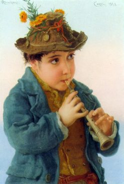 The Little Savoyard | Adriano Bonifazi | Oil Painting