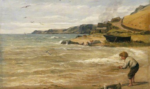 The Gull Catcher | James Clarke Hook