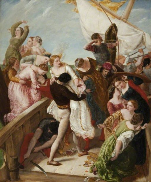 The Rescue of the Brides of Venice | James Clarke Hook