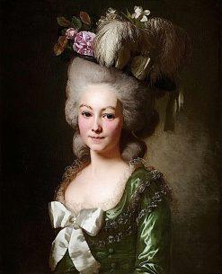 La marquise de Becdelièvre | Alexander Roslin | Oil Painting