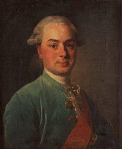 Portrait of Shuvalov | Alexander Roslin | Oil Painting