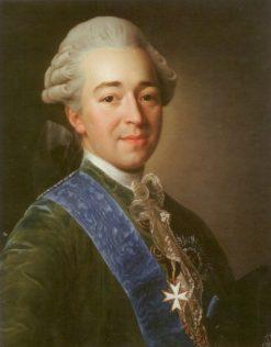 Portrait of Prince Alexander Kurakin | Alexander Roslin | Oil Painting